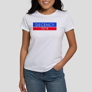 DECENCY 2018 bumper sticker T-Shirt