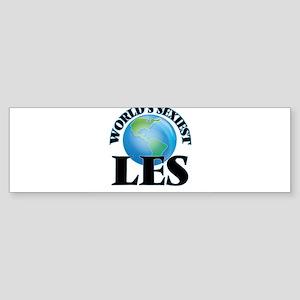 World's Sexiest Les Bumper Sticker