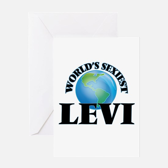 World's Sexiest Levi Greeting Cards