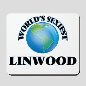 World's Sexiest Linwood Mousepad