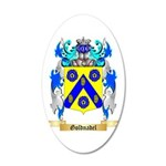 Goldnadel 20x12 Oval Wall Decal