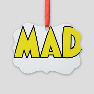 Ornamentally Mad Picture Ornament
