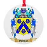 Goldman Round Ornament