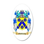 Goldklang 20x12 Oval Wall Decal