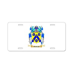 Goldkind Aluminum License Plate