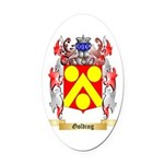Golding Oval Car Magnet