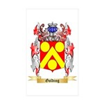 Golding Sticker (Rectangle 10 pk)