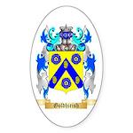 Goldhirish Sticker (Oval)