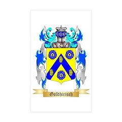 Goldhirisch Sticker (Rectangle 50 pk)