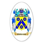 Goldhirisch Sticker (Oval)