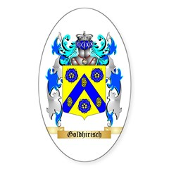 Goldhirisch Sticker (Oval 10 pk)