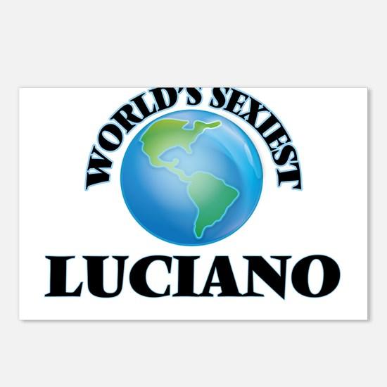 World's Sexiest Luciano Postcards (Package of 8)