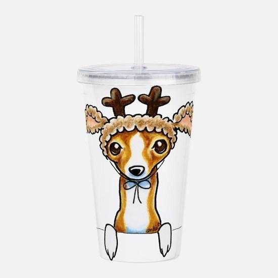 Oh Deer Acrylic Double-wall Tumbler