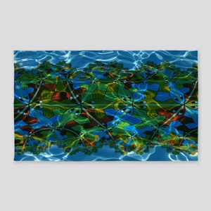 M. C. Escher Fish Under Water 3'x5' Area Rug