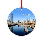 Philadelphia Ornament (Round)