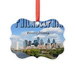 Philadelphia Picture Ornament