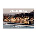 Philadelphia Mini Poster Print