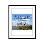 Philadelphia Framed Panel Print