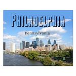 Philadelphia Small Poster