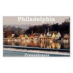 Philadelphia Sticker (Rectangle)