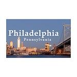 Philadelphia 35x21 Wall Decal