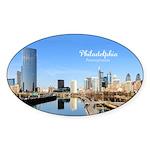 Philadelphia Sticker (Oval 50 pk)