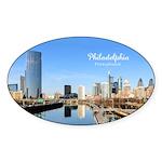 Philadelphia Sticker (Oval 10 pk)