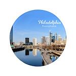 "Philadelphia 3.5"" Button (100 pack)"