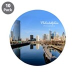 "Philadelphia 3.5"" Button (10 pack)"