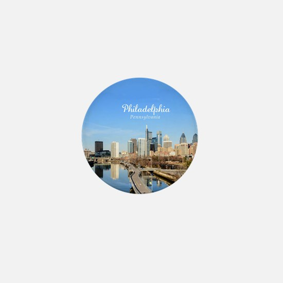 Philadelphia Mini Button