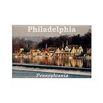 Philadelphia Rectangle Magnet (10 pack)