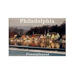 Philadelphia Rectangle Magnet