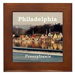 Philadelphia Framed Tile