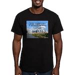 Philadelphia Men's Fitted T-Shirt (dark)