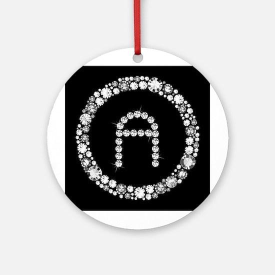 Diamond Infinity: A Ornament (Round)
