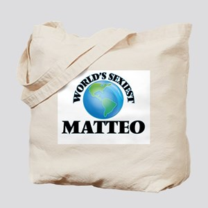 World's Sexiest Matteo Tote Bag