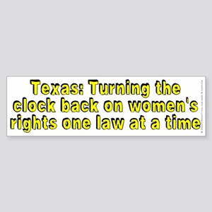 Texas: Turning the - Sticker (Bumper)