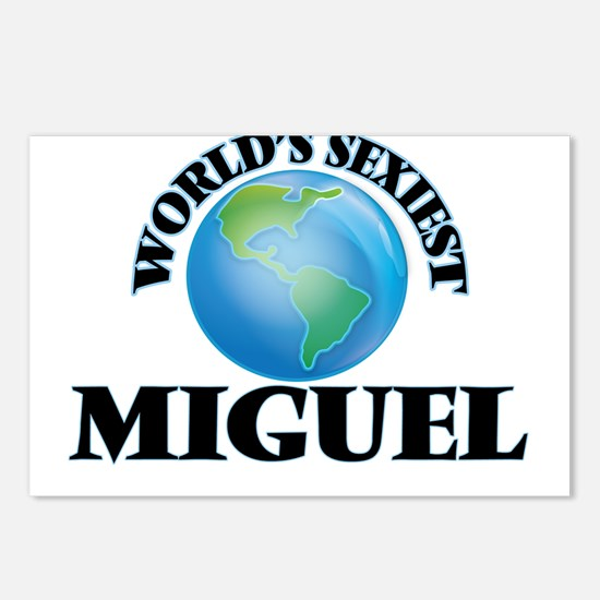 World's Sexiest Miguel Postcards (Package of 8)