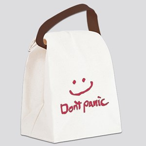 Don't Panic Canvas Lunch Bag