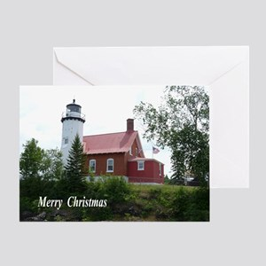 Eagle Harbor Lighthouse Greeting Cards
