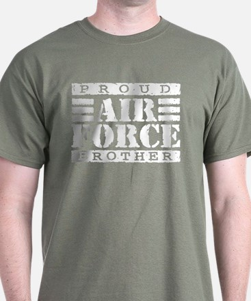 Proud Air Force Brother T-Shirt