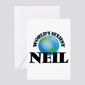 World's Sexiest Neil Greeting Cards