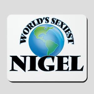 World's Sexiest Nigel Mousepad
