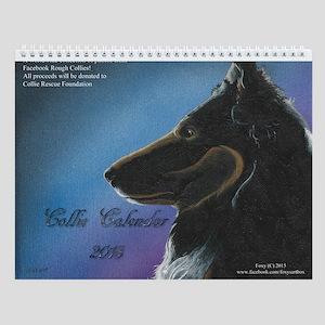 Collie Calendar 2018 Wall Calendar