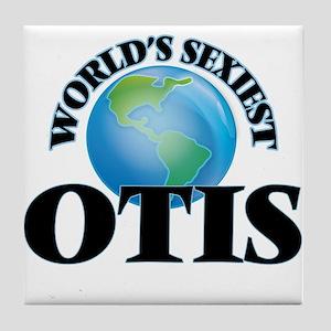World's Sexiest Otis Tile Coaster