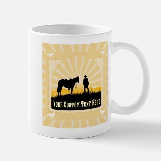 Add Text Cowboy Mug
