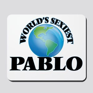 World's Sexiest Pablo Mousepad