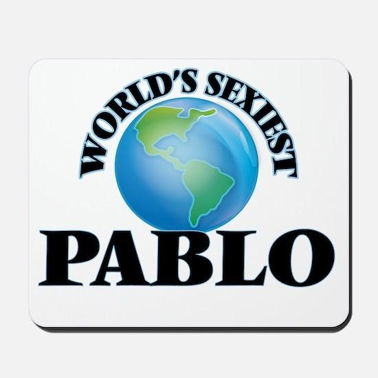 World's Sexiest Pablo Mousepad