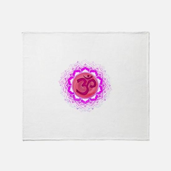 Crown Chakra Throw Blanket
