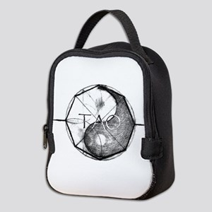 Tao Bagua Yin Yang Neoprene Lunch Bag